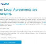 Paypal separates from eBay: Resurgence of phishing attempts!