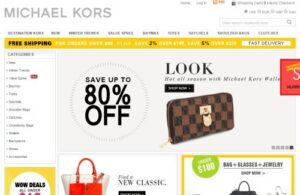 michael kors official website