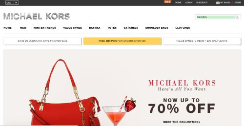fake Michael Kors websites